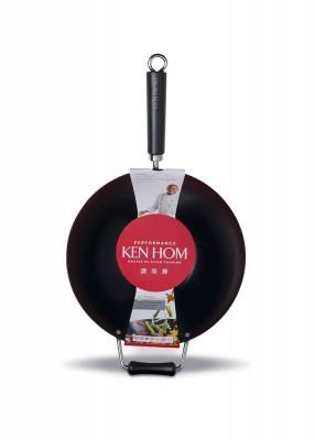 Ken Hom 32cm Yapışmaz, Karbon Çelik Wok Tava - Thumbnail