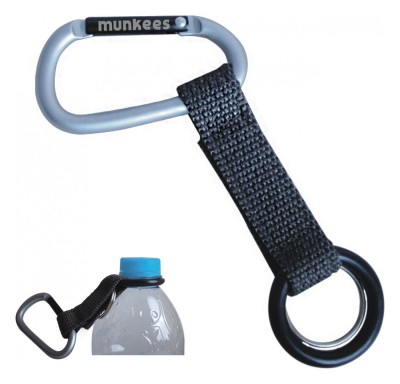 Munkees 3241 Pet Şişe Taşıyıcılı Carabiner Anahtarlık - Thumbnail