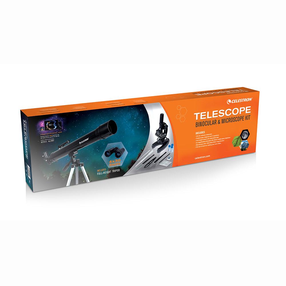 Celestron 22010 Science Kit Teleskop, Dürbün ve Mikroskop Seti