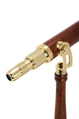 Celestron 22302 Ambassador 50mm Masaüstü Pirinç Teleskop - Thumbnail