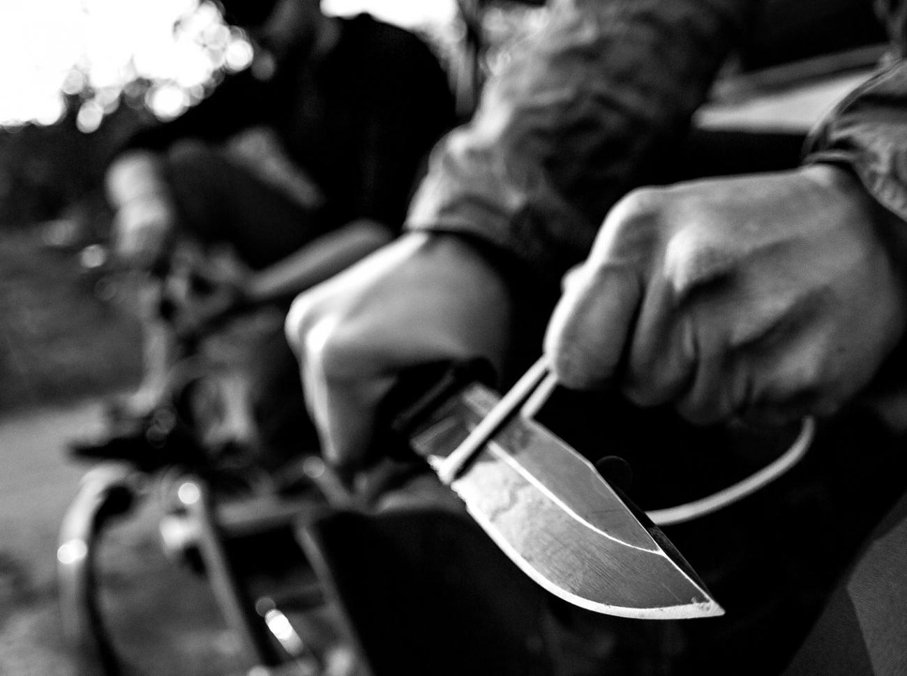 Gerber StrongArm Fixed Testere Ağızlı Kahverengi Bıçak (30-001059)