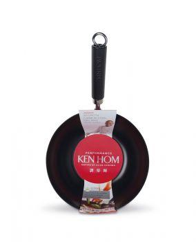 Ken Hom 20cm Yapışmaz, Karbon Çelik Wok Tava