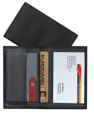 Victorinox 4.0873.V SwissCard Suni Deri Cüzdan - Thumbnail