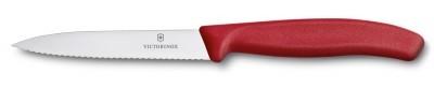 Victorinox 6.7731 10cm Tırtıklı Soyma Bıçağı - Thumbnail